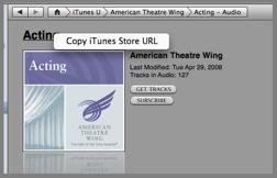 Get iTunes URL