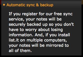 Sync & Backup